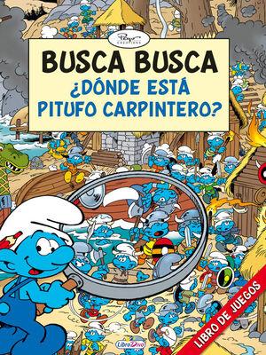 LOS PITUFOS BUSCA BUSCA ¿ DONDE ESTA PITUFO CARPINTERO ?