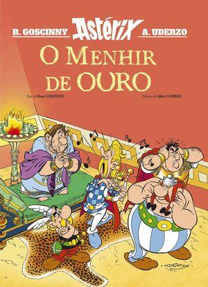 O MENHIR DE OURO. ASTERIX