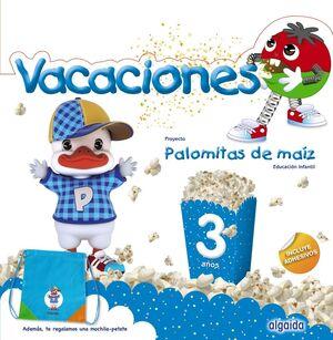 VACACIONES 3AÑOS 19 PALOMITAS MAIZ