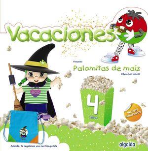 VACACIONES 4AÑOS 19 PALOMITAS MAIZ