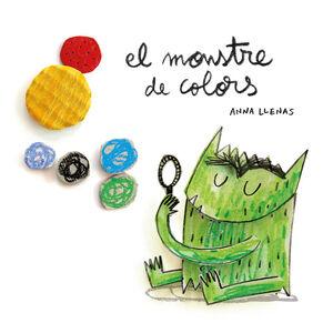 EL MONSTRE DE COLORS, EN CARTONE