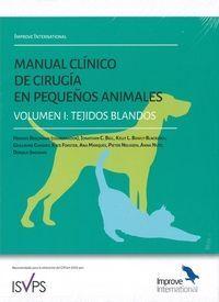 MANUAL CLINICO DE CIRUGIA EN PEQUEÑOS ANIMALES