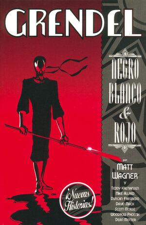 GRENDEL NEGRO, BLANCO Y ROJO 2