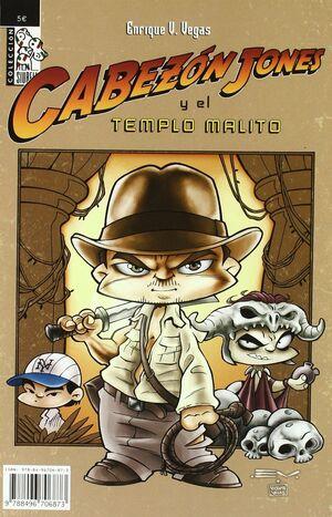 CABEZON JONES 02. EN EL TEMPLO MALDITO