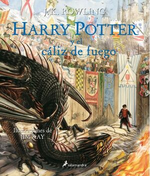 HARRY POTTER Y EL CALIZ DE FUEGO (HARRY POTTER [EDICION ILUSTRADA] 4)