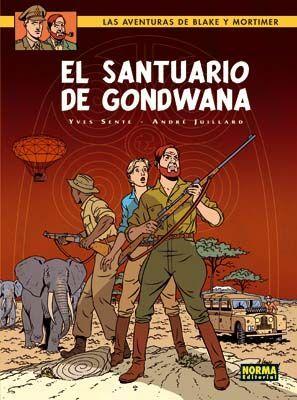BLAKE&MORTIMER 18 - EL SANTUARIO DE GONDWANA
