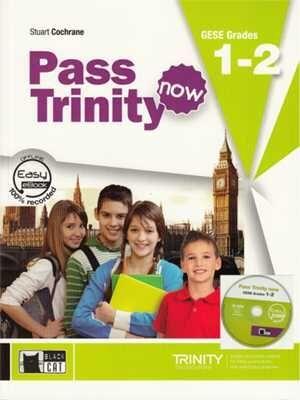 PASS TRINITY BOOK +DVD. GRADES 1-2