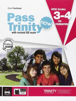 PASS TRINITY NOW BOOK + DVD GRADES 3-4