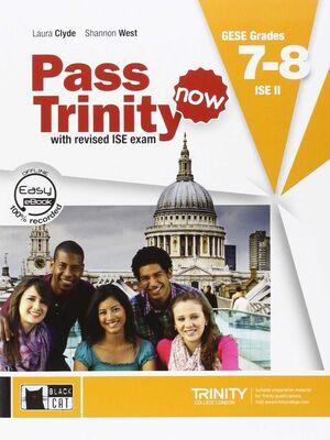 PASS TRINITY NOW BOOK +DVD GRADES 7-8