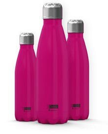 BOTELLA TERMO IDRINK 500ML ROSA